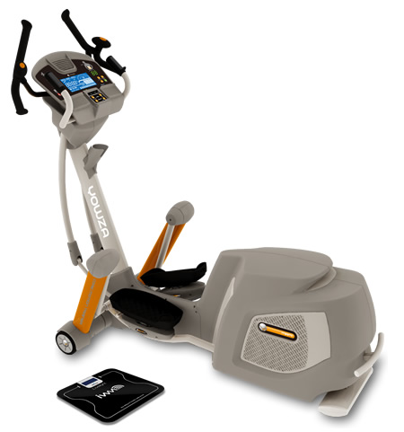 image of the Yowza Miami Elliptical machine