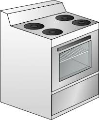 image of stove for baked gluten free parmesan crusted fish