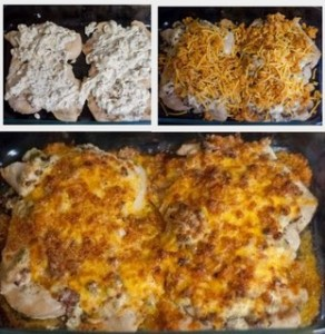 image of low carb popper chicken